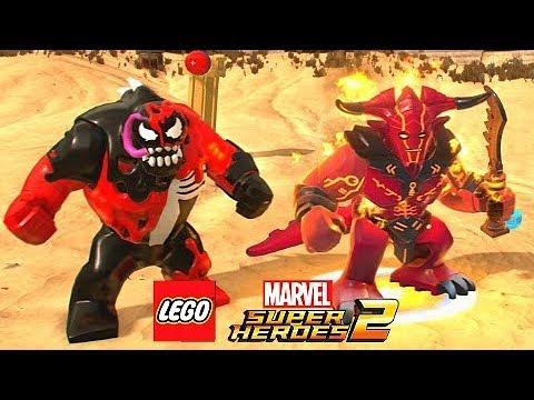 CARNOM E SURTUR, OS MONSTROS MAIS PERIGOSOS! | LEGO Marvel Super Heroes EXTRAS #2 PT-BR