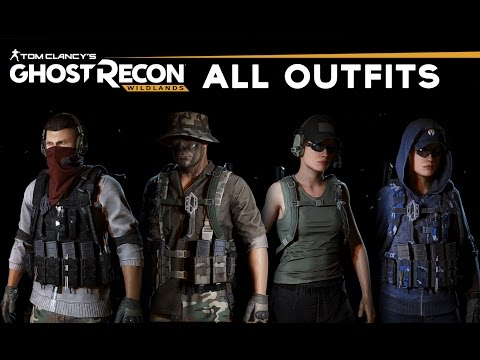 Ghost Recon Wildlands - All Customization/Outfits/Gears (Full Showcase)