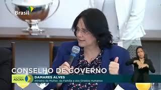 Ministra Damaris trabalho sério pelo Brasil