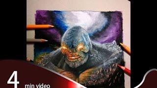 BvS  speed drawing doomsday fan art