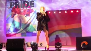 Kate Ryan en el Maspalomas Pride 2014