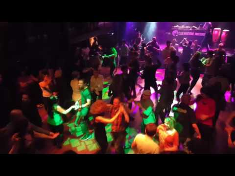 Salsa Dancing at Club Mystique in Amsterdam, Netherlands 24-02-2017