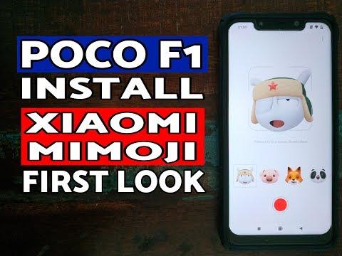 Xiaomi MiMoji on Poco F1