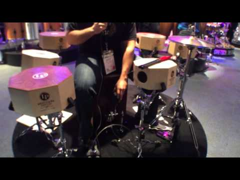 2014 Winter NAMM Latin Percussion Cajon Pedal
