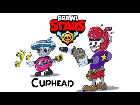 Brawl Stars X Supercell Characters As Cuphead Characters
