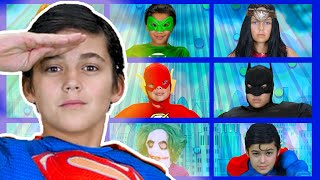 Justice League | Finger Family Songs