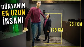 DÜNYA'NIN EN UZUN İNSANI (251 cm)