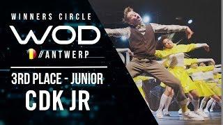 CDK JR | 3rd Place Junior Division | World of Dance Antwerp Qualifier 2018 | Winners Circle