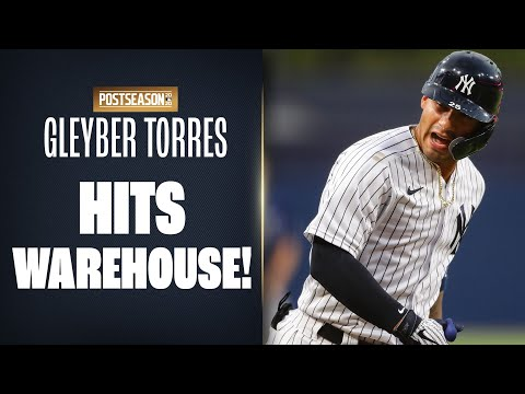 TO THE WAREHOUSE! Gleyber Torres hits building at Petco Park in ALDS Game 4