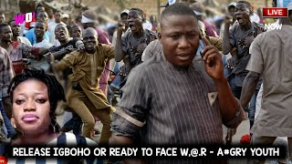 YORUBAS 7 DAYS TO RELEASE IGBOHO AND LADY K OR ELSE THEIR WILL BE WR -AGRY YOUTH WRNS COTONOU