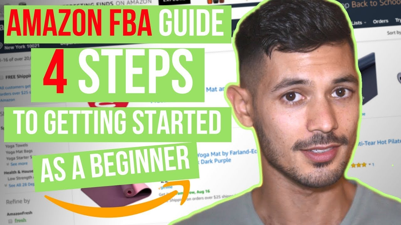 How To Get Started Selling On Amazon FBA For Beginners, Step By Step Guide