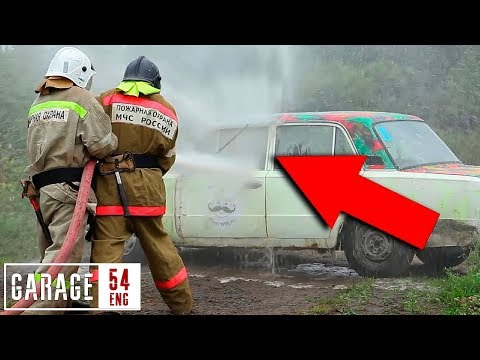 Here's Why Washing A Car With A Fire Hose Is A Terrible Idea