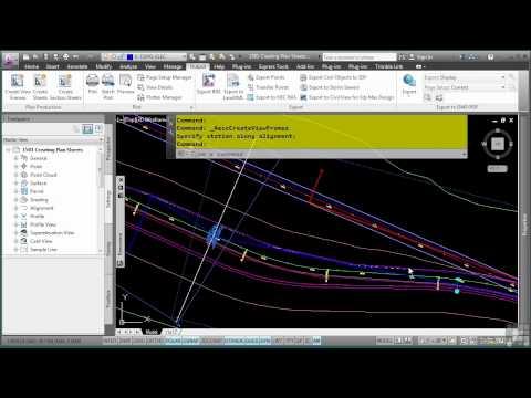 AutoCAD Civil 3D Tutorial | Creating Plan Sheets | InfiniteSkills
