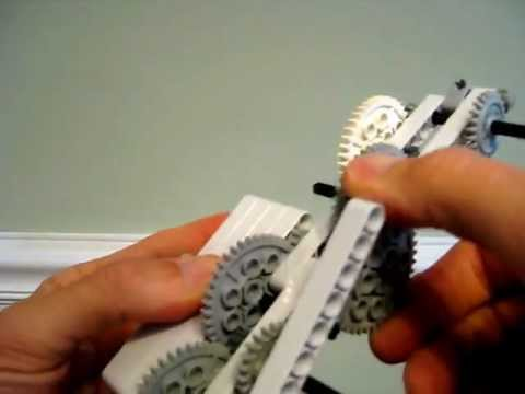 A Gear Train with a Gear Ratio of 84,375 to 1!