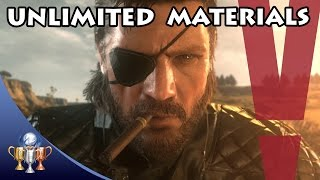 Metal Gear Solid V The Phantom Pain - Unlimited Fuel, Biological, Common, Minor & Precious Metals