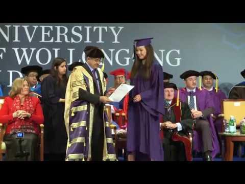 UOWD Autumn 2016 UG Graduation Ceremony - Full Video