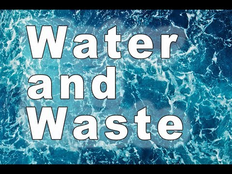 Preparation For Challenges Water and Waste