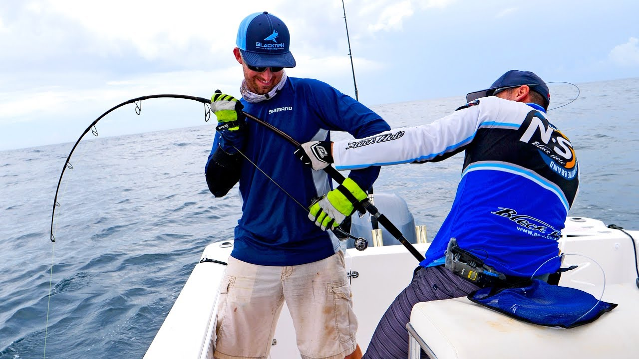 Monster Grouper Spinning Tackle Fishing Challenge