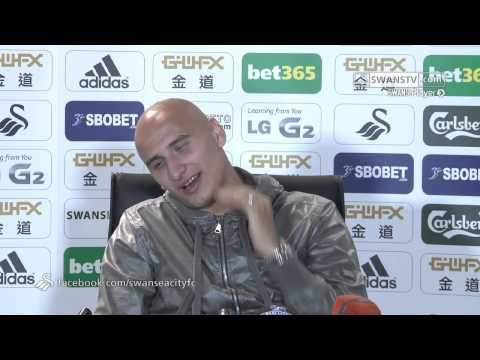 Swansea City Video: Jonjo Shelvey speaks before Liverpool at home