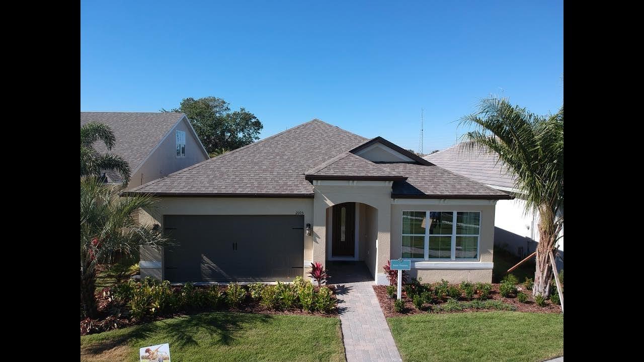 Orlando New Homes - K Hovnanian's Four Seasons at Orlando - Saint Thomas  Model