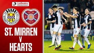 St Mirren 2-0 Hearts   Hammill Scores a Wonder Goal!   Ladbrokes Premiership