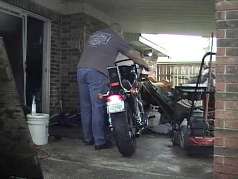 Suzuki VS1400 Jardine Rumblers exhaust