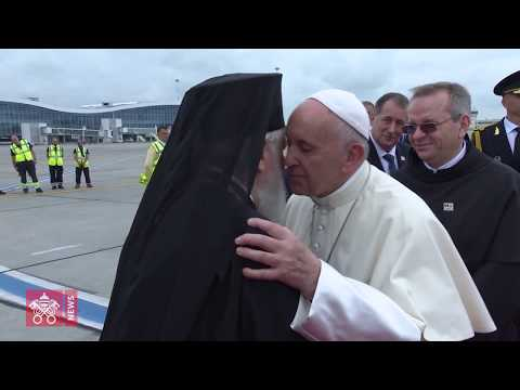 One day in 60 seconds: Pope Francis in Romania 31 05 2019