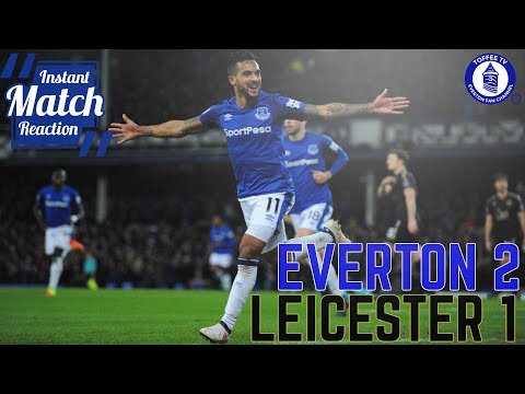 Everton 2-1 Leicester City | Theo Brace Wins It For Blues | Instant Match Reaction
