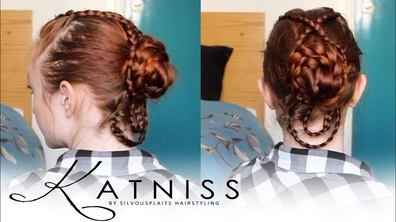 Hunger Games Hair Tutorial Katniss Wedding Dress Hair