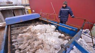 видео Способ плавления снега