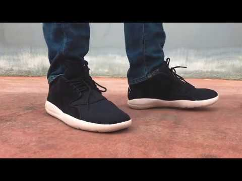 cc06717a69545b Jordan Eclipse Leather Black