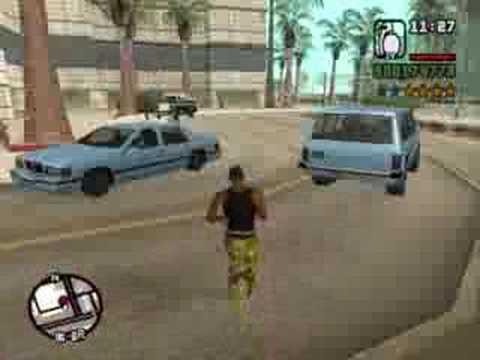 GTA San Andreas - Killing Innocent People (Part One)