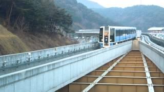 釜山都市鉄道4号線4000系 東釜山大学駅 Busan Rapid Transit Line4