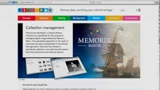 Play Collectiebeheer met Picturae's Memorix Maior