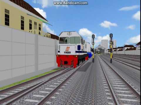 Indonesian Railway OpenBVE Version - Bendera Coklat