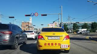 도로주행 A코스 - 강북삼성자동차운전전문학원