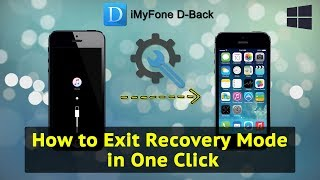 How to Exit Recovery Mode in One Click with iMyfone iOS System Recovery