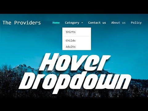 Bootstrap 3 Responsive Navigation Bar   Transparent Navbar   Dropdown Menu On Hover   Source File