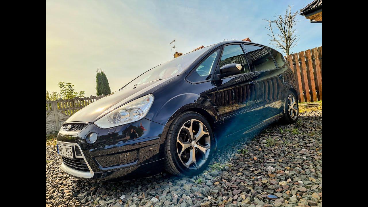FORD SMAX 2,5 TURBO 220KM TITANIUM-S MANUAL Auto Import Nieporęt