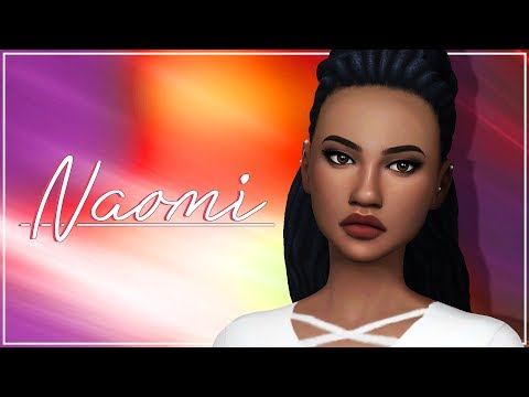 NAOMI | THE SIMS 4 | Create a Sim + CC list and sim download WMV