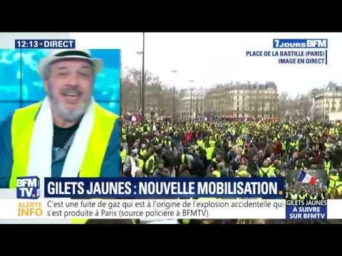 Philippe Pascot face au Grand Débat bidon.
