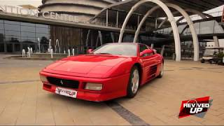 Africa's Top Gear - The Revved Up: FERRARI 348GTS IN KIGALI