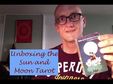 Unboxing of the Sun and Moon Tarot (and a detour into Children's Books!)