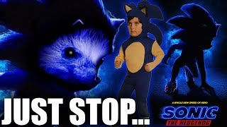 The Teaser For The Sonic The Hedgehog Movie Trailer Made Me Fear For My Life...