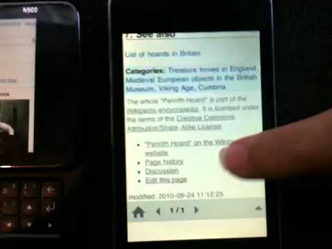 Wikipedia how to mobile screencast
