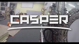 "FRC team 1690 Orbit 2019 robot reveal - ""CASPER"""