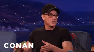 Jean-Claude Van Damme's 83-Year-Old Mother Runs His Facebook Page  - CONAN on TBS