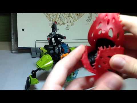 Lego Hero Factory Review:Breez Flea Machine(44027)(RUS)