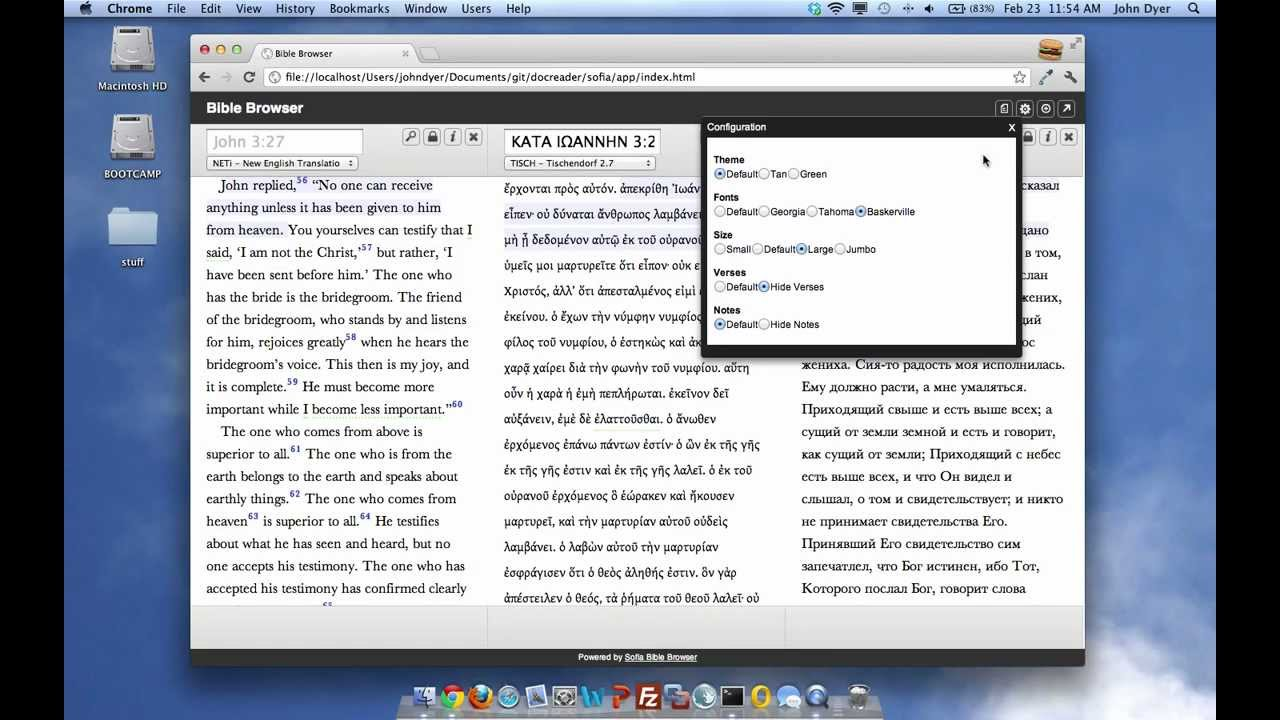 Powerful, Secure Bible Software for Closed Countries … and You