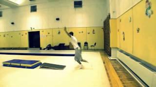 Переднее сальто обучение урок 2 .Секция акробатики № 1
